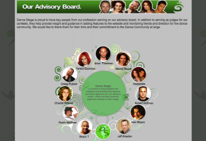 DanceStage.com Advisory Board