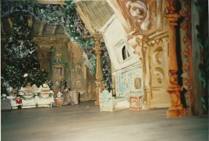 IMAGE Sketch of The Nutcracker set design by Desmond Heeley. IMAGE