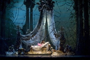 The Sleeping Beauty - Houston Ballet - Danielle Rowe and Simon Ball [Photo by Ron McKinney]