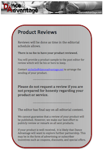 A thumbnail image of our product review pdf