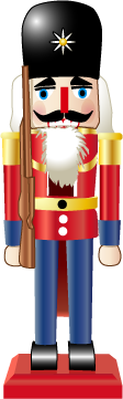IMAGE Computer drawing of a nutcracker. IMAGE