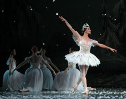 Ballet: The Nutcracker; Choreographer: Ben Stevenson; Dancer(s): Tyann Clement; Photograph: Amitava Sarkar