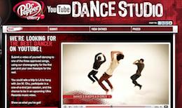 Dr. Pepper Cherry YouTube Dance Studio Contest