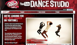 Dr. Pepper Cherry YouTube Dance Studio Contest