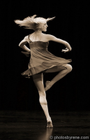 photo of dancer turning