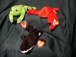 Picture of three Beanie toys