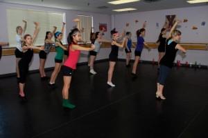DancesToGo choreographer Tia Colborne teaches class at her studio