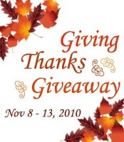 Dance Advantage Giving Thanks Giveaway: Nov 8 - 13, 2010
