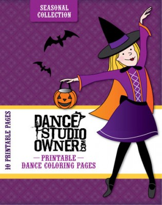 Seasonal Coloring Pages for Dance