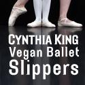 IMAGE Cynthia King Vegan Ballet Slippers IMAGE