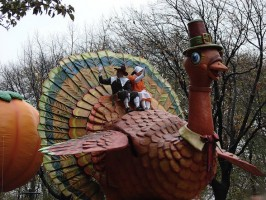 Photo of the Thanksgiving Day Parade Turkey
