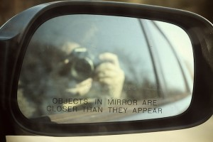 [image]Objects in the mirror may be closer than they appear[image]
