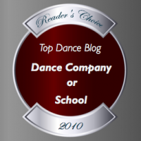 Top Dance Blog 2010 - Dance Company or School Winner