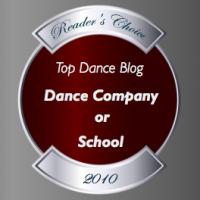 Top Dance Blog 2010 - Dance Company or School Winner