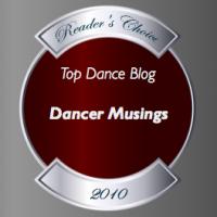 Top Dance Blog of 2010 Dancer Musings winner