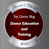 Top Dance Blog of 2010 Education and Training winner