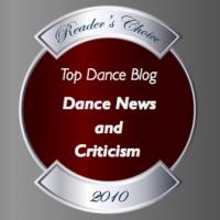 Top Dance Blog of 2010 News and Criticism Winner