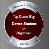 Top Dance Blog of 2010 Student or Beginner winner