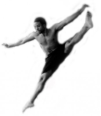 IMAGE Author, Roger Lee caught mid-air in a jump. IMAGE