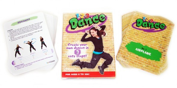 IMAGE 1-2-3 Dance: Interactive Hip Hop choreography kit. IMAGE