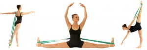 IMAGE Stretching with Balletband: Miami City Ballet Principal Dancer, Jennifer Kronenberg, stretches in 3 poses. IMAGE