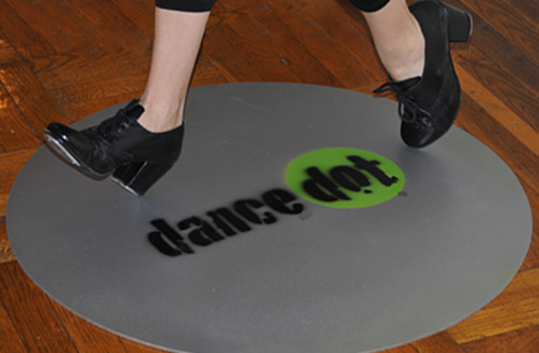 Good IMAGE Jackie Taps On The Dance Dot Portable Practice Floor. IMAGE