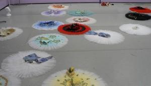 IMAGE A sea of tutus lay ready to be worn at YAGP IMAGE