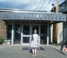 IMAGE Alison at the Boston Ballet School Summer Intensive last year IMAGE