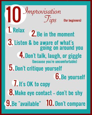 10 Tips For Dancers New To Improvisation