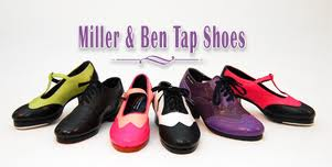 IMAGE An array of colorful Miller & Ben Tap Shoes IMAGE