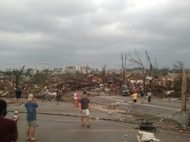 IMAGE Devastating tornado damage in Tuscaloosa, Alabama in 2011 IMAGE