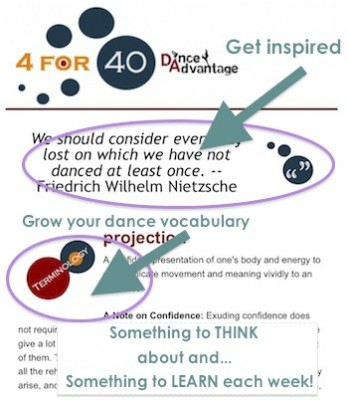 IMAGE A peek at the 4 for 40 e-course IMAGE