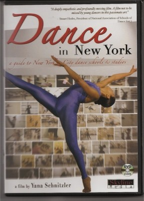 IMAGE Cover of Dance in New York (volume one) IMAGE