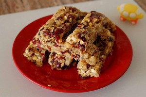 IMAGE Homemade crunch bars IMAGE