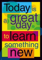IMAGE Today is a great day to learn something new. IMAGE