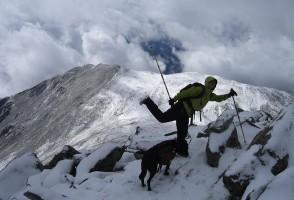 IMAGE Melanie on top of Mt. Shavano in Colorado IMAGE