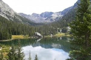 IMAGE American Lake near Aspen, Colorado IMAGE