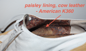 IMAGE American K360 lining IMAGE