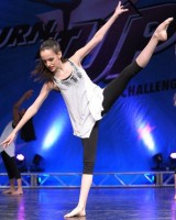 IAMGE A memeber of the junior competition team at Kathy Blake Dance Studios IMAGE