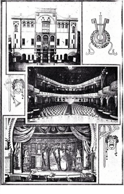 IMAGE Gibson's New Standard Theater, Philadelphia, PA, circa 1919 IMAGE