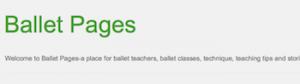 http://balletpages.blogspot.com
