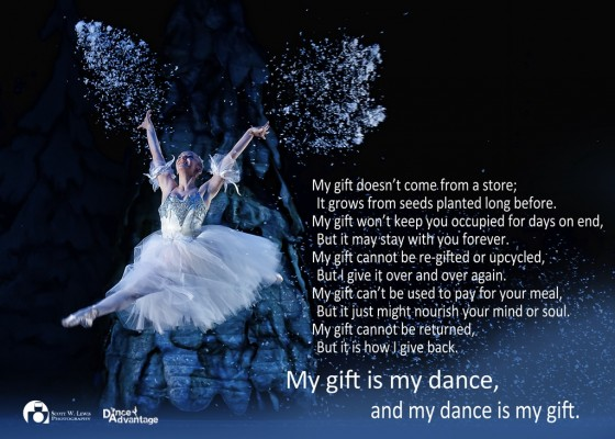 IMAGE My dance is my gift.... (click to read poem)