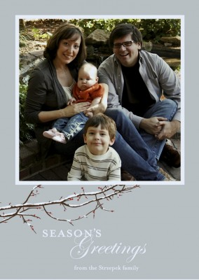 IMAGE Season's Greetings from the Strzepek family IMAGE