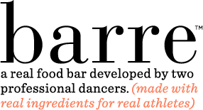 IMAGE Barre - a real food bar developed by dancers, created for everyone IMAGE