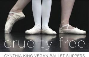 IMAGE Cruelty Free shirt - Cynthia King Vegan Ballet Slippers IMAGE