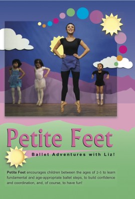 IMAGE Front cover of the Petite Feet dance DVD IMAGE