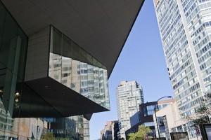 IMAGE Dance studio at Juilliard overlooking Broadway IMAGE