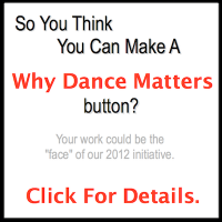 Submit a badge for possible use in the Why Dance Matters initiative