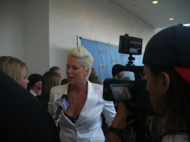 Mia Michaels talking SYTYCD with the press