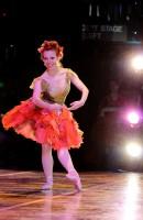 Alabama Ballet dancer on stage
